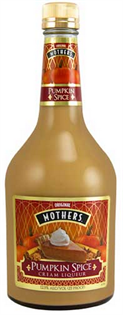 Mothers Pumpkin Spice Cream 750ml - Case of 12
